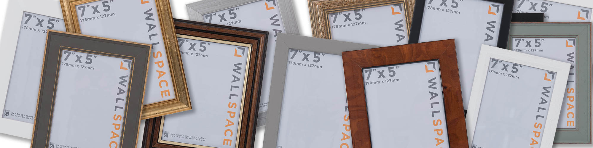 "7"" x 5"" Photo Frames"