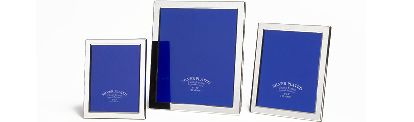 Silver Plated Frames