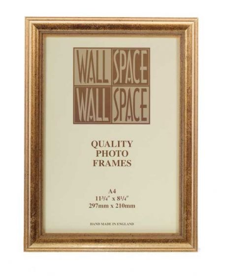 A4 Photo Frame Gold Deluxe