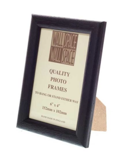 "6"" x 4"" Black Photo Frame"