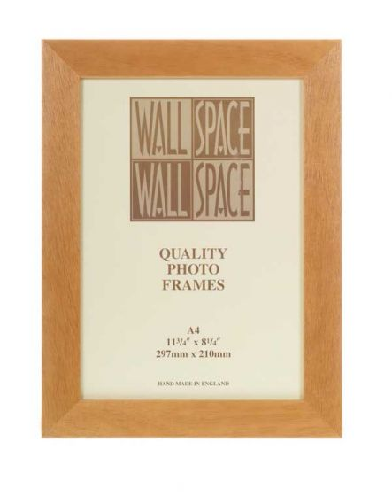 A4 Certificate Frame Pine