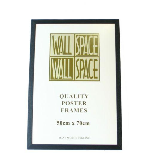 Black Wooden Poster Frame - 500mm x 700mm