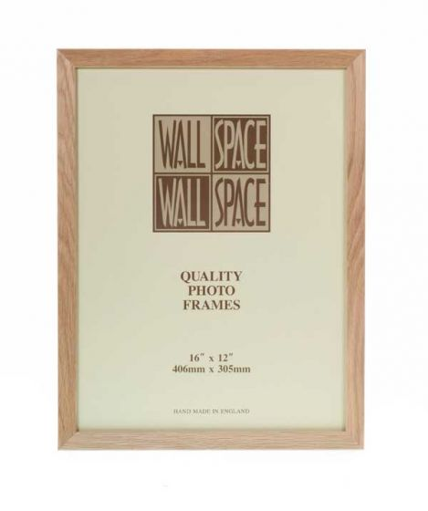 "16"" x 12"" - 21mm Solid Oak Photo Frame"
