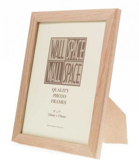 Solid Oak Photo Frame 9x7
