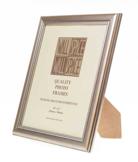 Deluxe Silver Photo Frame 10x8