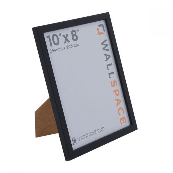 10 x 8 Thin Matt Black Photo Frames