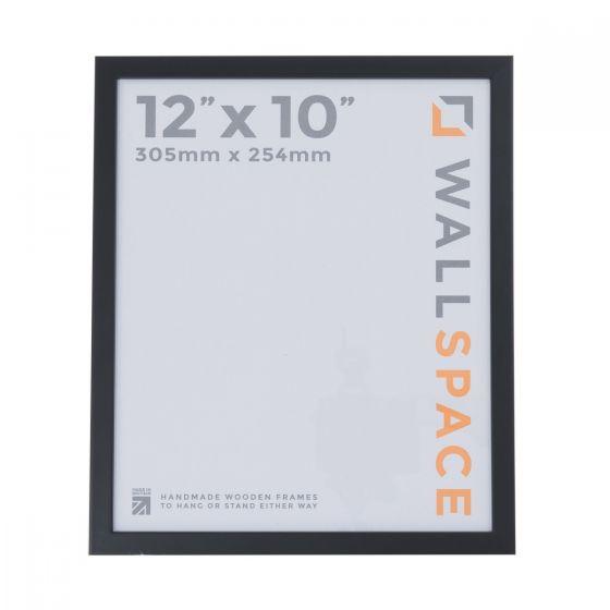 12 x 10 Thin Matt Black Photo Frames