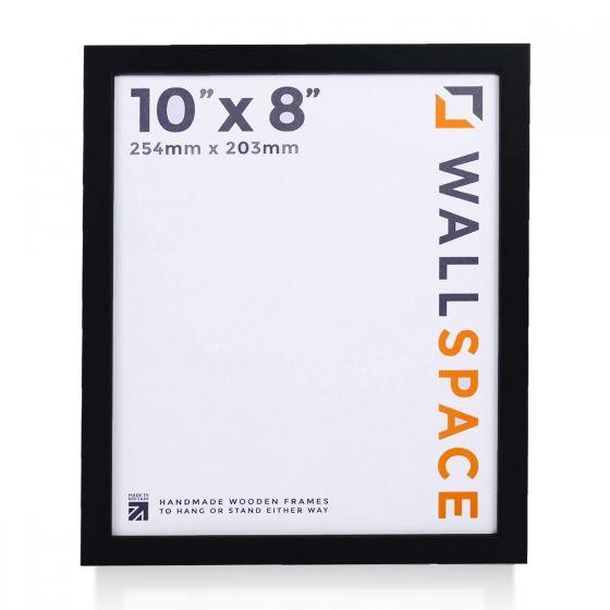 10 x 8 - 15mm Matt Black Photo Frames