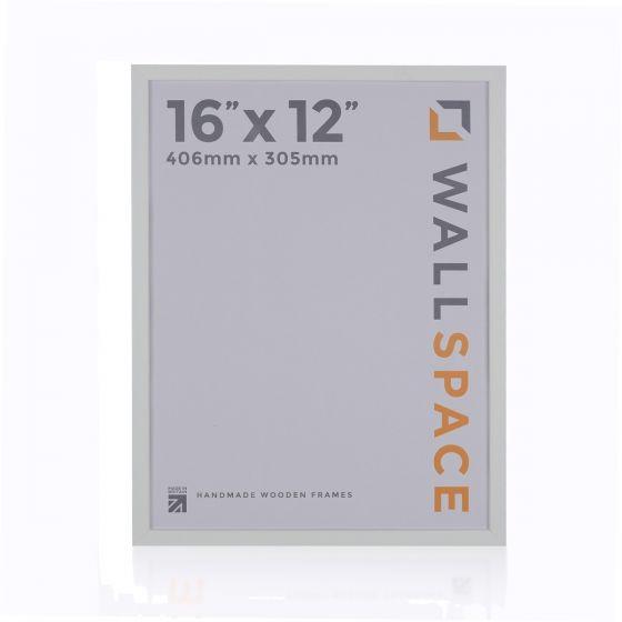 16 x 12 - 15mm Matt White Photo Frames