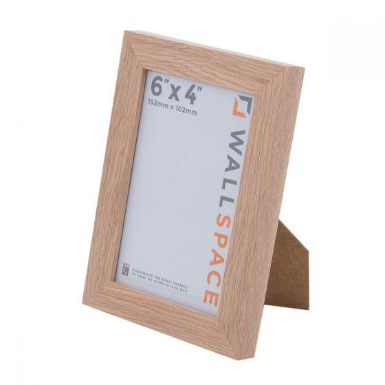 6 x 4 - 21mm Solid Oak Photo Frames