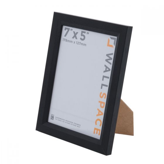 7 x 5 - 1 Black Photo Frames