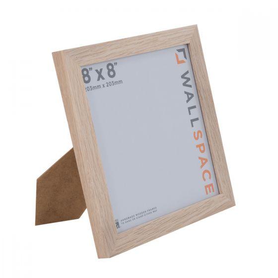 8 x 8 Solid Oak Square Photo Frames