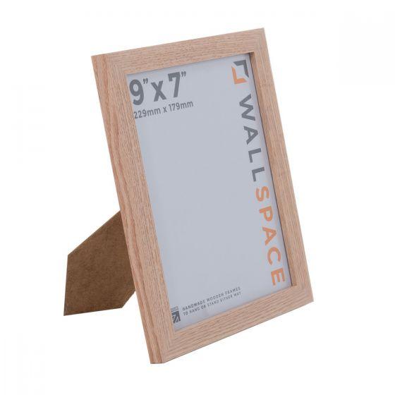 9 x 7 - 21mm Solid Oak Photo Frames
