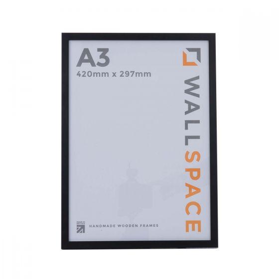 A3 Thin Matt Black Photo Frames