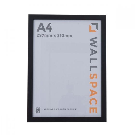 A4 Thin Matt Black Photo Frames