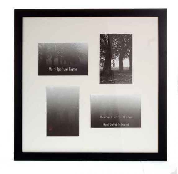 Multiple Aperture Photo Frame - 4 Holes to fit 4x Photo's
