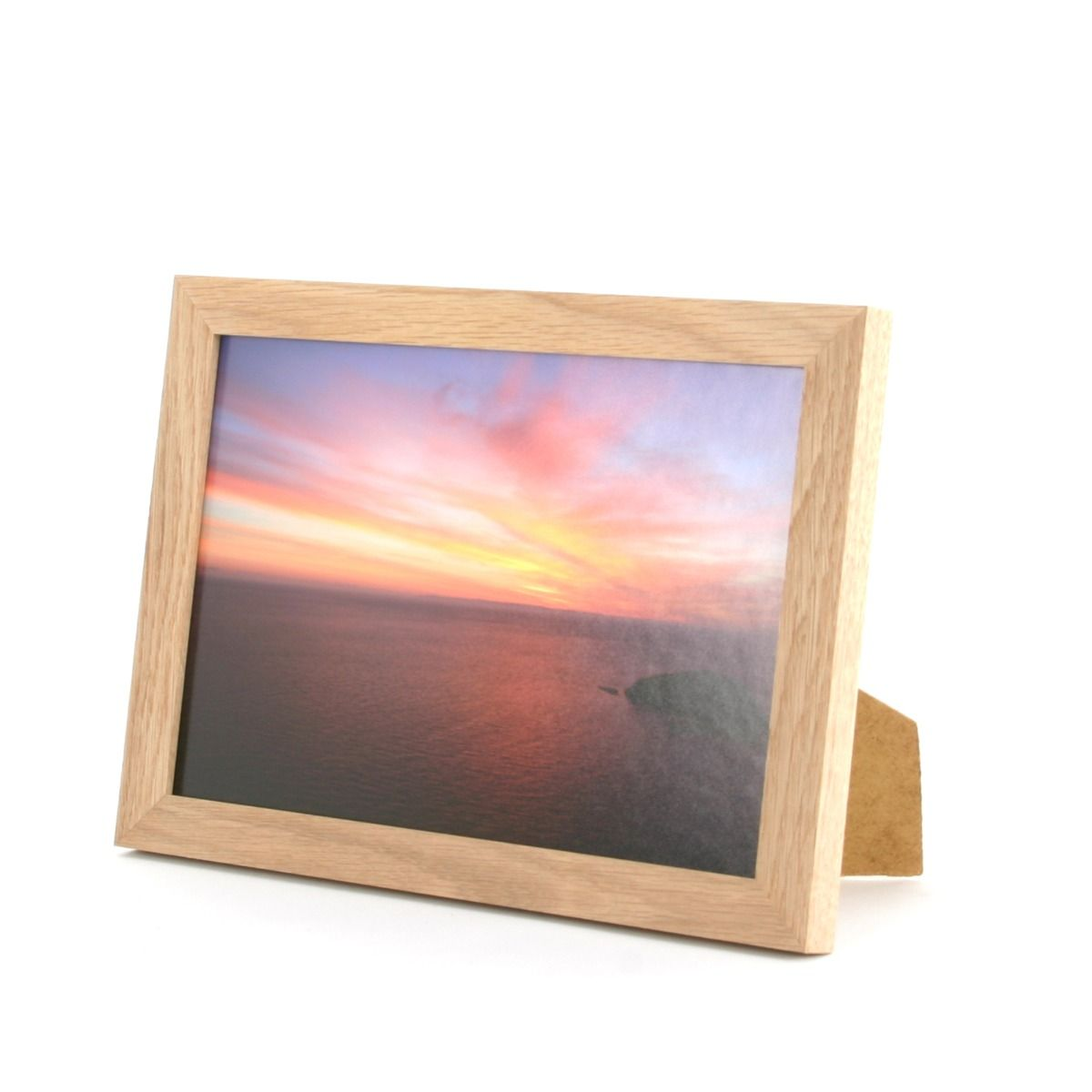 Solid Oak Photo Frame 10 X 7 Trade Prices Buy Online