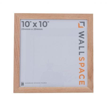 10 x 10 - 21mm Solid Oak Square Photo Frames
