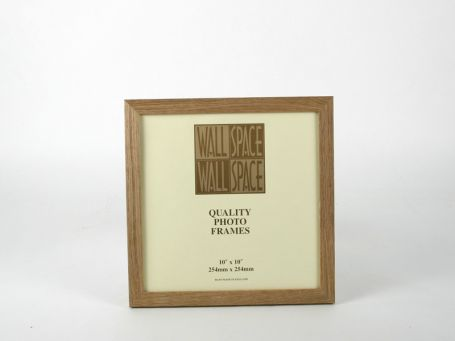 10 x 10 - 21mm Solid Oak Square Photo Frames