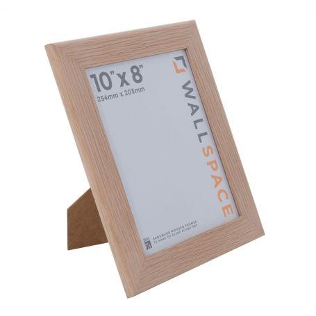 Wide Solid Oak Photo Frame 10x8