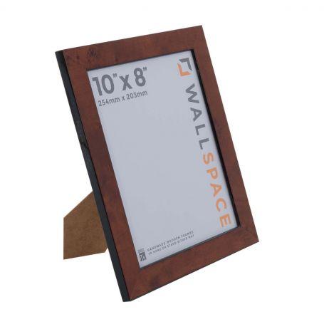 10 x 8 Gloss Walnut Photo Frames