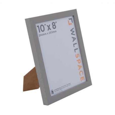 10 x 8 Modern Grey Wooden Photo Frames