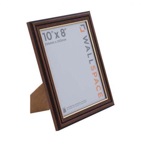 10 x 8 Traditional Brown Frame