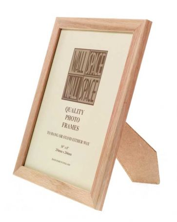 Solid Oak Photo Frame 10x8
