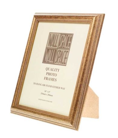 Speckled Gold Photo Frame 10x8
