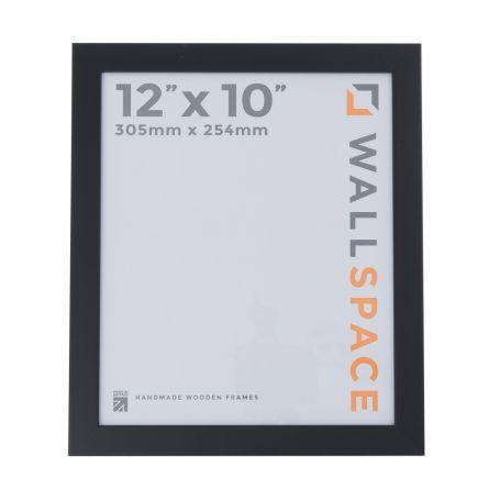 """12"""" x 10"""" Photo Frame in 25mm Black"""
