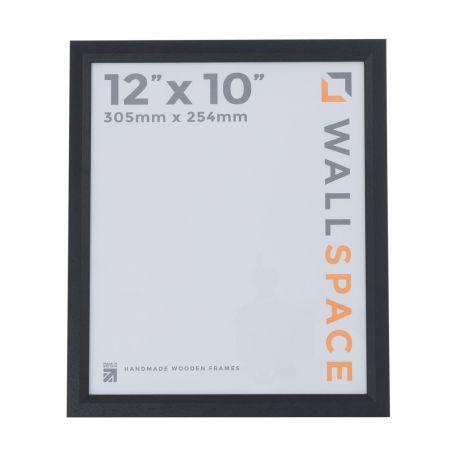 "12"" x 10"" Photo Frame 1"" Black"