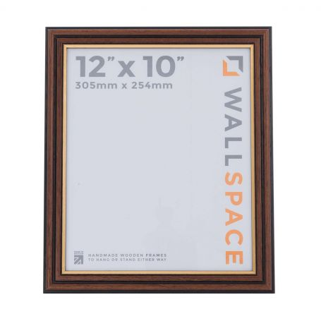 12 x 10 Traditional Brown Frame