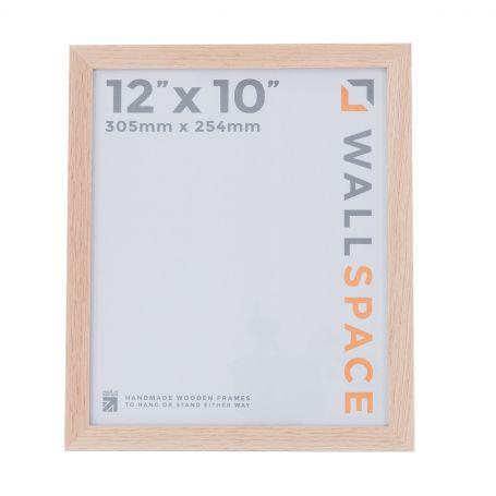 "12"" x 10"" Photo Frame in Solid Oak"