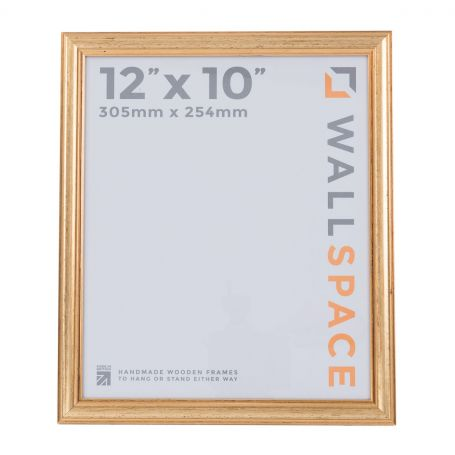 """12"""" x 10"""" Photo Frame in Deluxe Gold"""