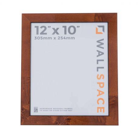 12 x 10 Gloss Walnut Photo Frames