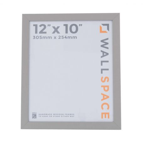 12 x 10 Modern Grey Wooden Photo Frames