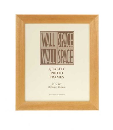 "12"" x 10"" Photo Frame in Box Pine"