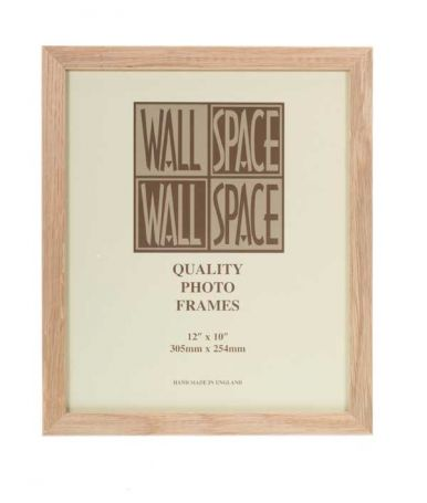 "12"" x 10"" Photo Frame in Solid Oak"