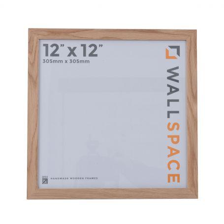 12 x 12 - 21mm Solid Oak Square Photo Frames