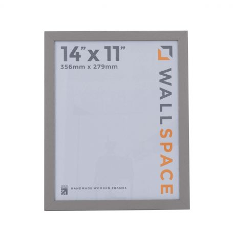 14 x 11 Modern Grey Wooden Photo Frames