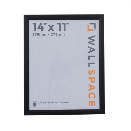"14"" x 11"" - 1"" Black Photo Frame"
