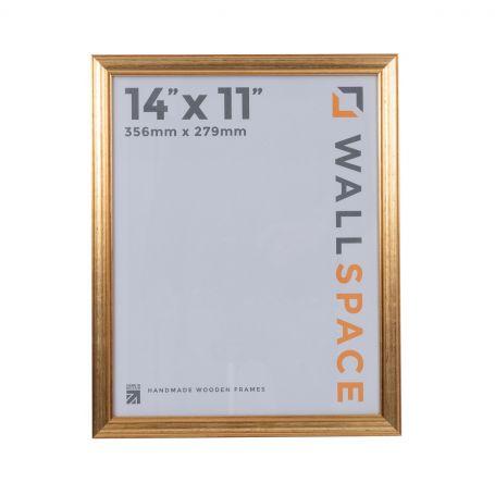 "14"" x 11"" Photo Frame Gold"