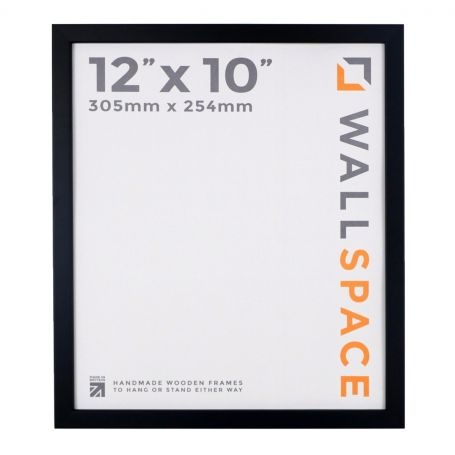 "12"" x 10"" Photo Frame 15mm Black"