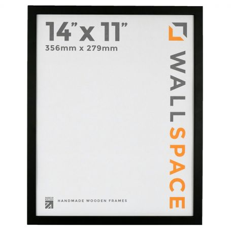 "14"" x 11"" - 15mm Matt Black Photo Frame"