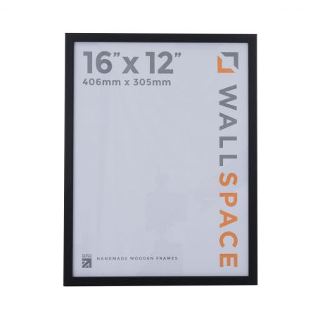16 x 12 Thin Matt Black Photo Frames