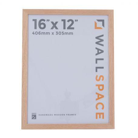 "16"" x 12"" - 21mm Solid Oak Photo Frame"