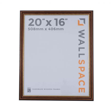 20 x 16 Traditional Brown Frame