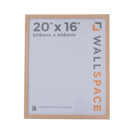 20 x 16 - 21mm Solid Oak Photo Frames