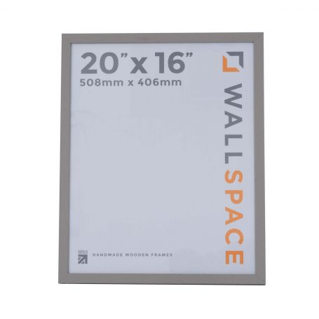 20 x 16 Modern Grey Wooden Photo Frames