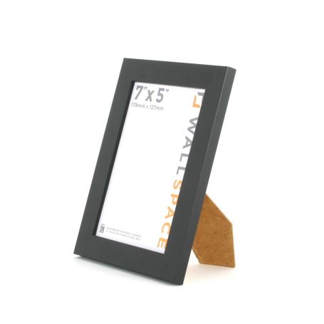 25mm Black Photo Frame 7x5